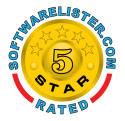 Awarded 5 star's on Software Lister
